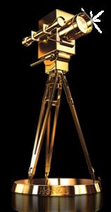 Goldene Kamera von Hörzu    Foto: Goldene Kamera