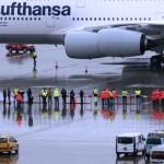 und noch ein Grössenvergleich: Menschen, Autos und der A380