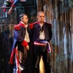 Darius Merstein-Macleod (Jean Valejan) und Chris Murray (Javert)Foto: © Christian Husar